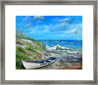 Robert Moses Beach Framed Print by Patrice Torrillo