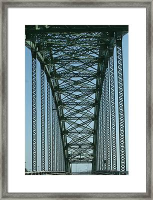 Robert Moses Causeway Bridge Framed Print by Christopher Kirby