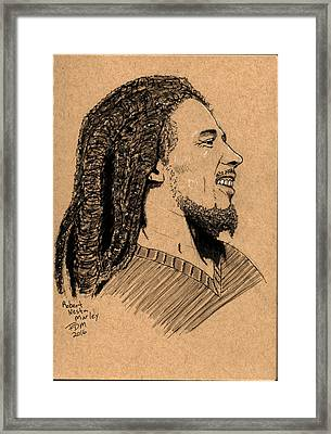 Robert Nesta Marley Framed Print