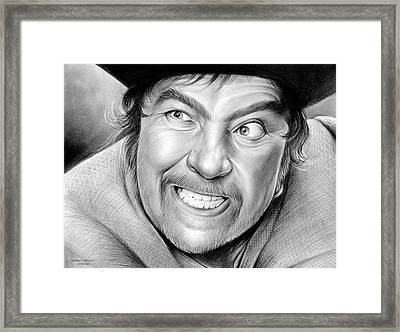 Robert Newton Framed Print by Greg Joens