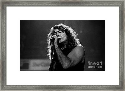 Robert Plant-0041 Framed Print by Timothy Bischoff