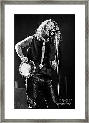 Robert Plant-0062 Framed Print by Timothy Bischoff