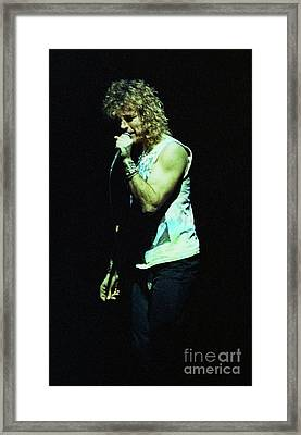 Robert Plant-88-3206 Framed Print