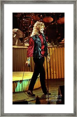 Robert Plant-88-3222 Framed Print