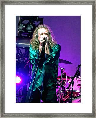 Robert Plant And The Sensational Space Shifters.4 Framed Print