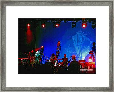 Robert Plant And The Sensational Space Shifters.8 Framed Print