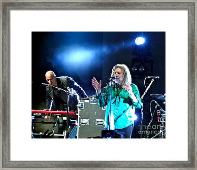 Robert Plant And The Sensational Space Shifters.2 Framed Print