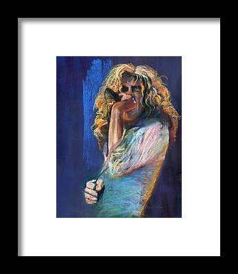 Robert Plant Framed Prints