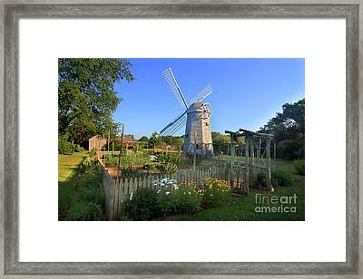 Robert Sherman Windmill Framed Print
