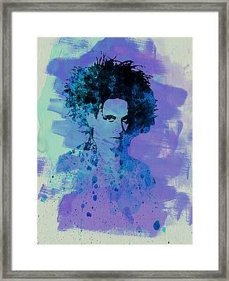 Robert Smith Cure Framed Print