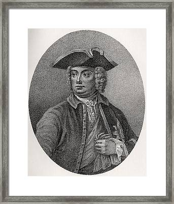Robert Walpole 1st Earl Of Orford 1676 Framed Print by Vintage Design Pics
