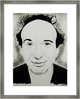Roberto Benigni Framed Print by David Briot