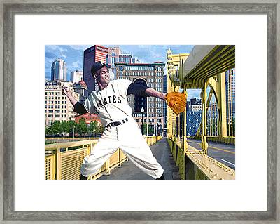 Roberto's Bridge Framed Print