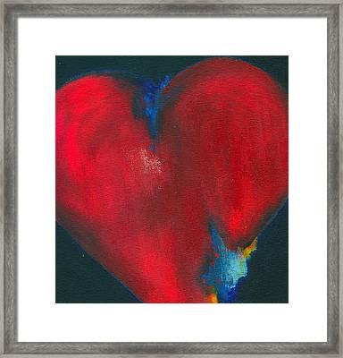 Roberto's Corazon Framed Print by Ricky Sencion