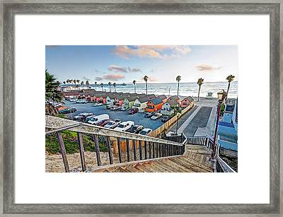 Robert's Cottages Framed Print by Ann Patterson