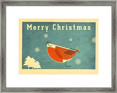 Robin 1 Framed Print by Daviz Industries