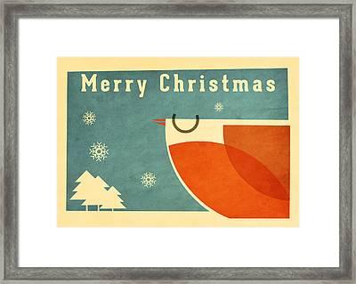 Robin 5 Framed Print by Daviz Industries