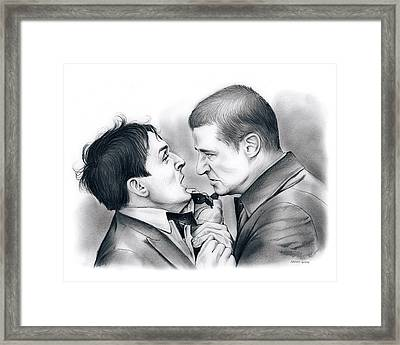 Robin Lord Taylor Framed Print by Greg Joens