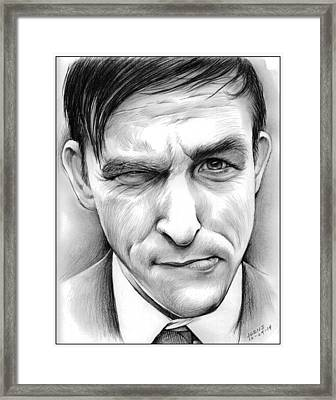 Robin Lord Taylor II Framed Print by Greg Joens