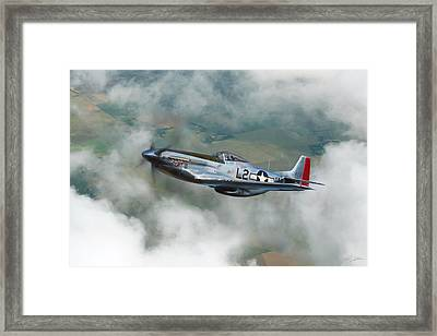 Robin Olds Scat Vi Framed Print by Peter Chilelli