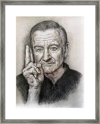 Robin Williams Framed Print