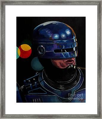 Robocop2 Framed Print by Jose Mendez