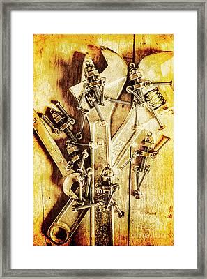 Robolts Framed Print