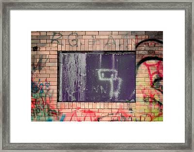 Robot Boy  Framed Print by Samantha  Backhaus