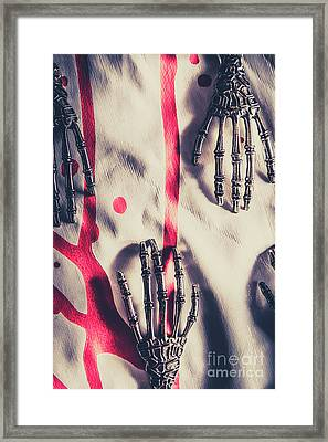 Robot Killing Machines Framed Print