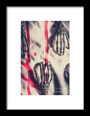 Hand Anatomy Framed Prints