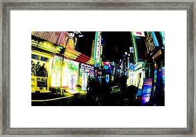 Robot Restaurant Shinjuku Tokyo Framed Print by Jera Sky