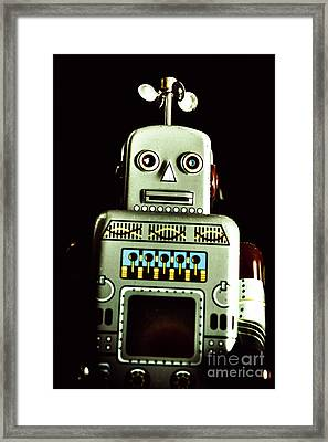 Robotic Spaceman Framed Print by Jorgo Photography - Wall Art Gallery