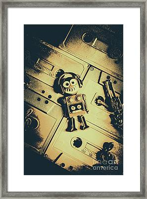 Robotic Trance Framed Print