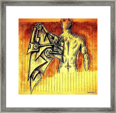 Robotics Framed Print by Paulo Zerbato