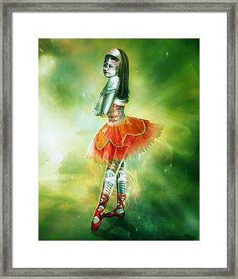 Robots Can Dream Too Framed Print by Mary Hood