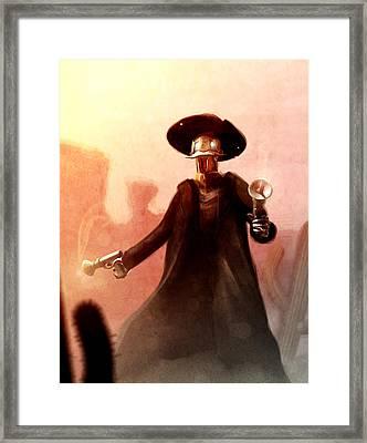 Roboy Framed Print by Jamie Fox