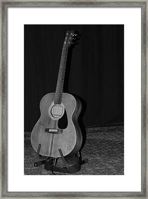 Robyn Hitchcock's Guitar Framed Print by Lauri Novak