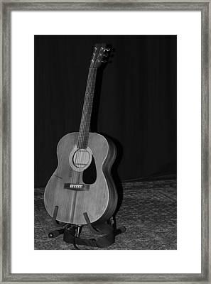 Robyn Hitchcock's Guitar Framed Print by Lauri Novak