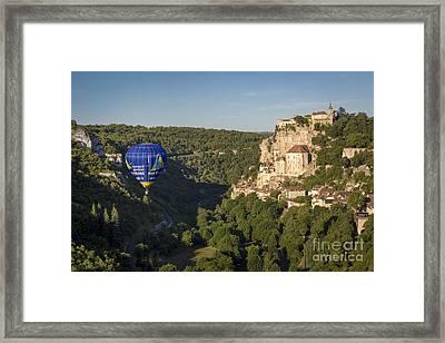 Rocamadour - Lot Valley Framed Print