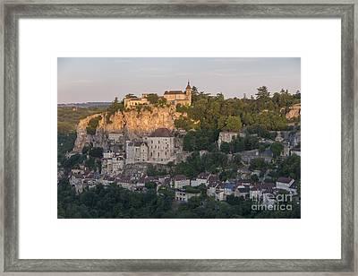 Rocamadour Sunrise Framed Print