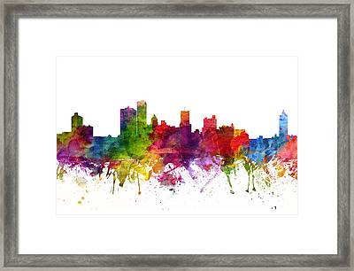 Rochester Cityscape 06 Framed Print by Aged Pixel