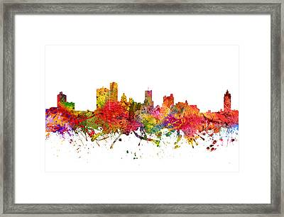 Rochester Cityscape 08 Framed Print by Aged Pixel