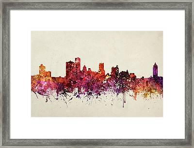 Rochester Cityscape 09 Framed Print by Aged Pixel