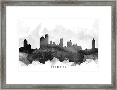 Rochester Cityscape 11 Framed Print by Aged Pixel