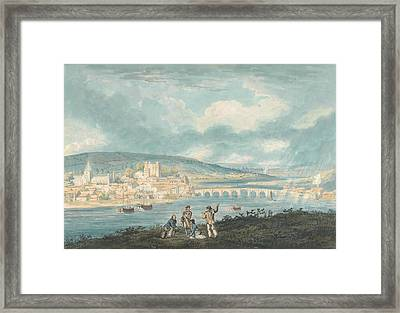 Rochester, Kent- From The North Framed Print