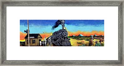 Rochester Mural  Framed Print by Calina Mishay
