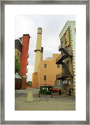 Rochester, Ny - Behind The Bar And Factory 2005 Framed Print by Frank Romeo