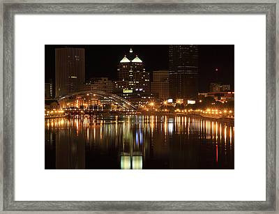Rochester On The Genesee Framed Print