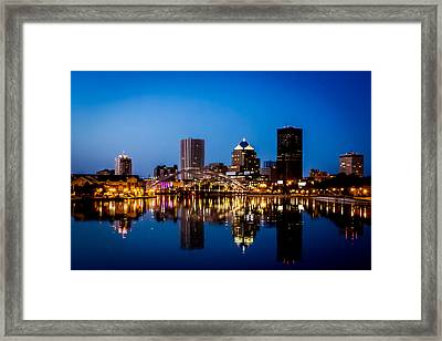 Rochester Reflections Framed Print