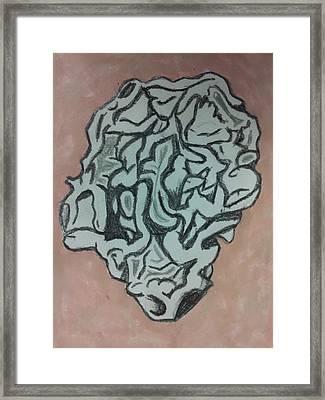Rock 2 Framed Print